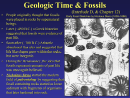 AppState: Geologic Time & Fossils