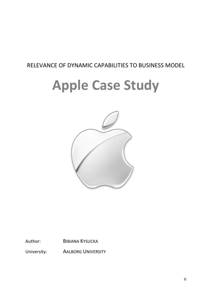 apple business case study