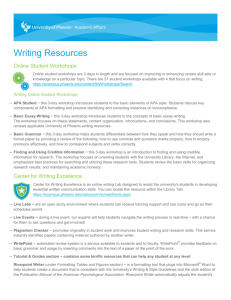 Writing Resources - Amazon Web Services
