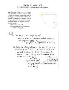 HW Set IV– page 1 of 6 PHYSICS 1401 (1) homework solutions