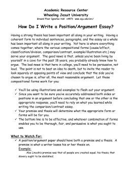 Graphic Design Essay How Do I Write A Positionargument Essay Argument Essays Topics also English Essay Writing Help Essay Arguing A Position Never Give Up Essay