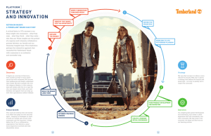 RETURN ON INSIGHT: A TIMBERLAND® BRAND CASE STUDY