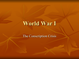 6 Conscription Crisis
