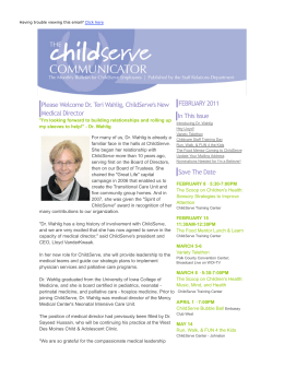 ChildServe Communicator