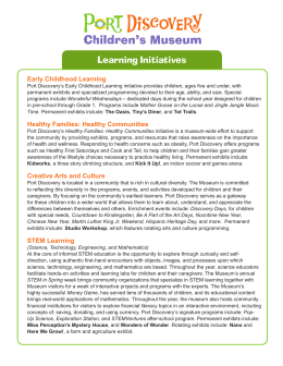 Learning Initiatives