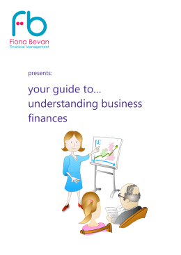 your guide to… understanding business finances