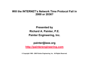 Will the INTERNET's Network Time Protocol Fail in 2000 or 2036