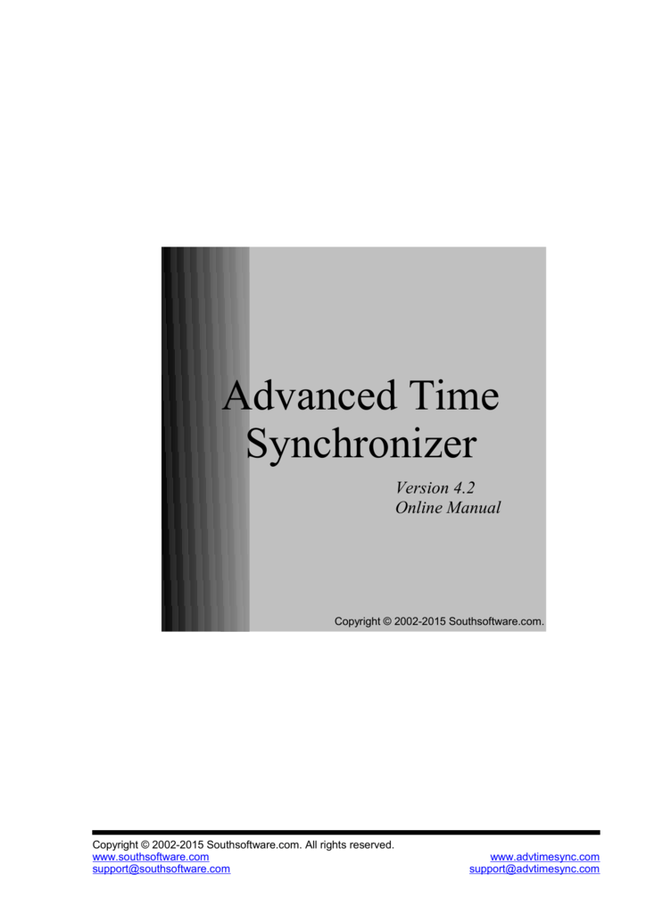 Advanced Time Synchronizer