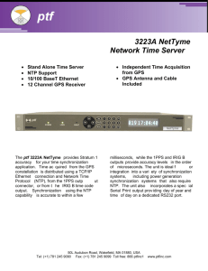 3223A NetTyme Network Time Server