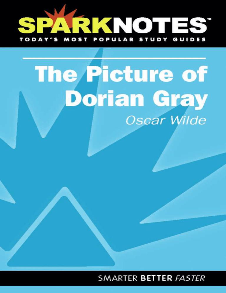 The Picture Of Dorian Gray Sammanfattning