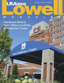 Fall 2009 - UMass Lowell