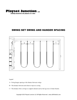 swing spacing - Playset Junction