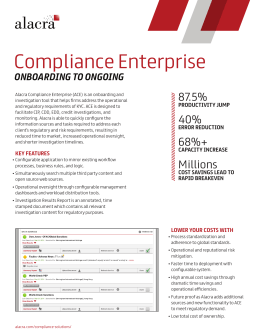 Compliance Enterprise