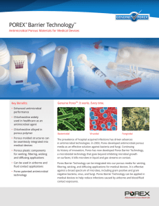 Porex® Barrier Technology™ Datasheet