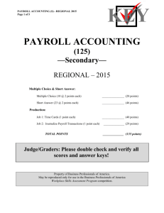 PAYROLL ACCOUNTING (04)