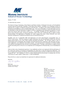 Marine Institute MetOcean buoys Testimonial