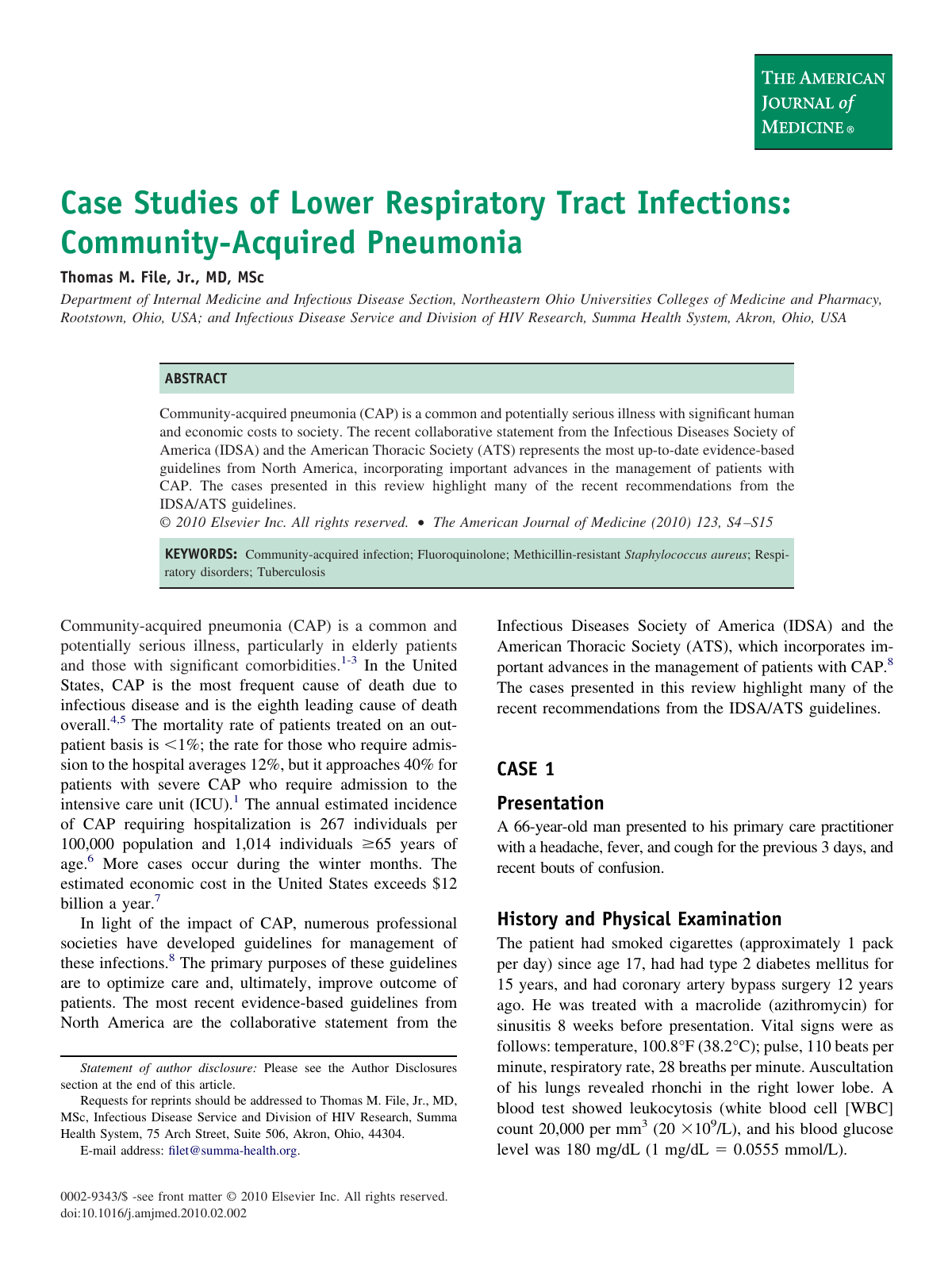 a779d718a6f Case Studies of Lower Respiratory Tract Infections