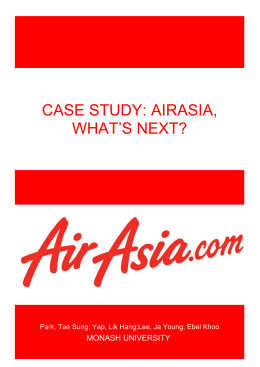 airasia annual report Mock up for airasia x berhad annual report 2016 just using visual randomly pictures, not for the final artwork.