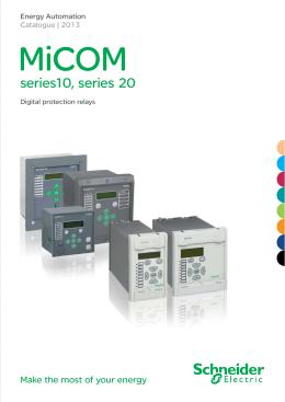 micom brochure schneider electric rh studylib net Schneider Micom Areva Micom