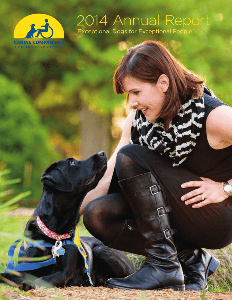 2014 Annual Report - Canine Companions for Independence