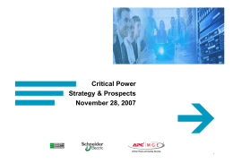 Critical Power Strategy_EN