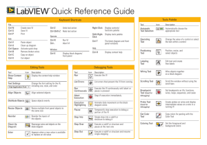 Learn LabVIEW Quick Reference Guide
