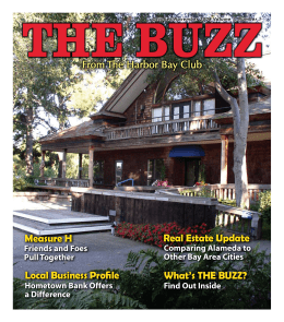 What's THE BUZZ? - Harbor Bay Club