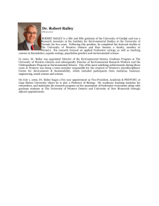 Dr. Robert Bailey