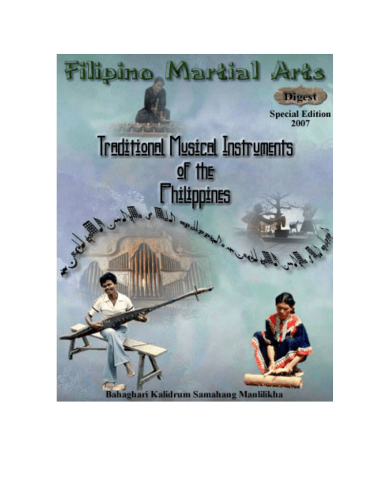 traditional musical instruments of the philippines