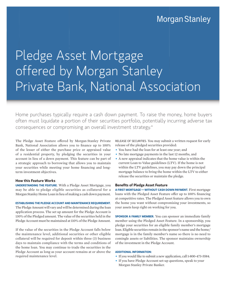 Morgan Stanley Debit Card