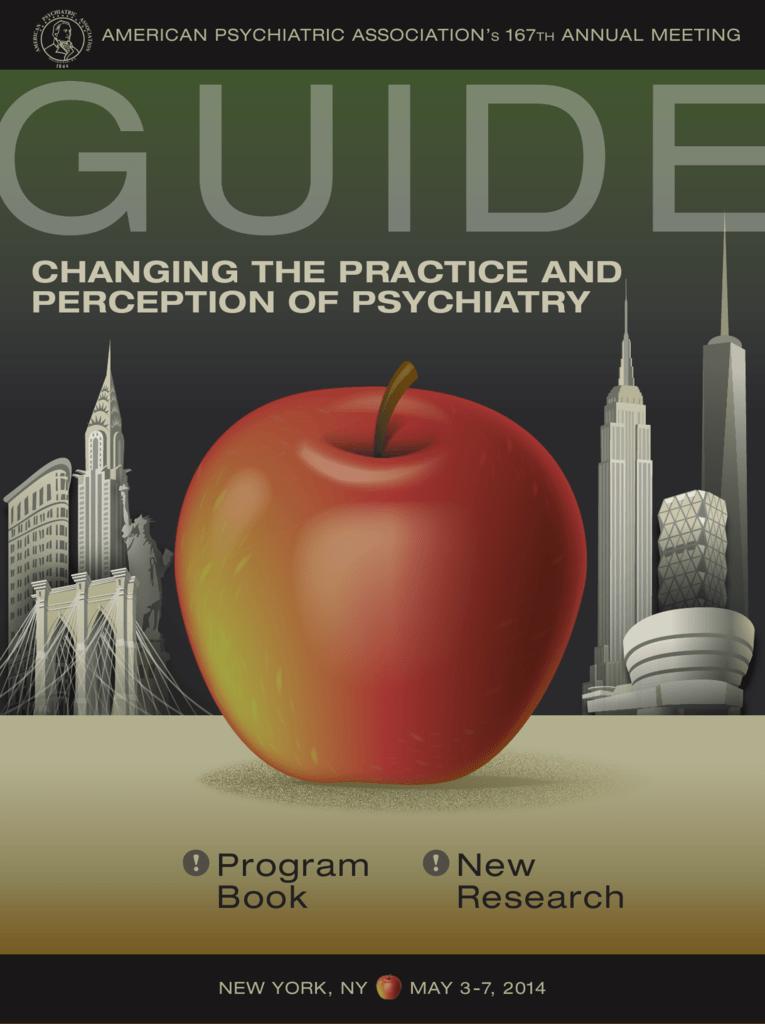 Program Book New Research - American Psychiatric Association