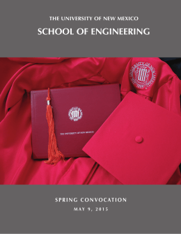 Spring Convocation - School of Engineering