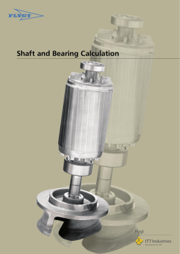 Shaft and Bearing Calculation