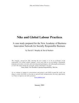 Nike Financial Analysis SlideShare CASE    NIKE  INC