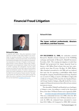 Financial Fraud Litigation