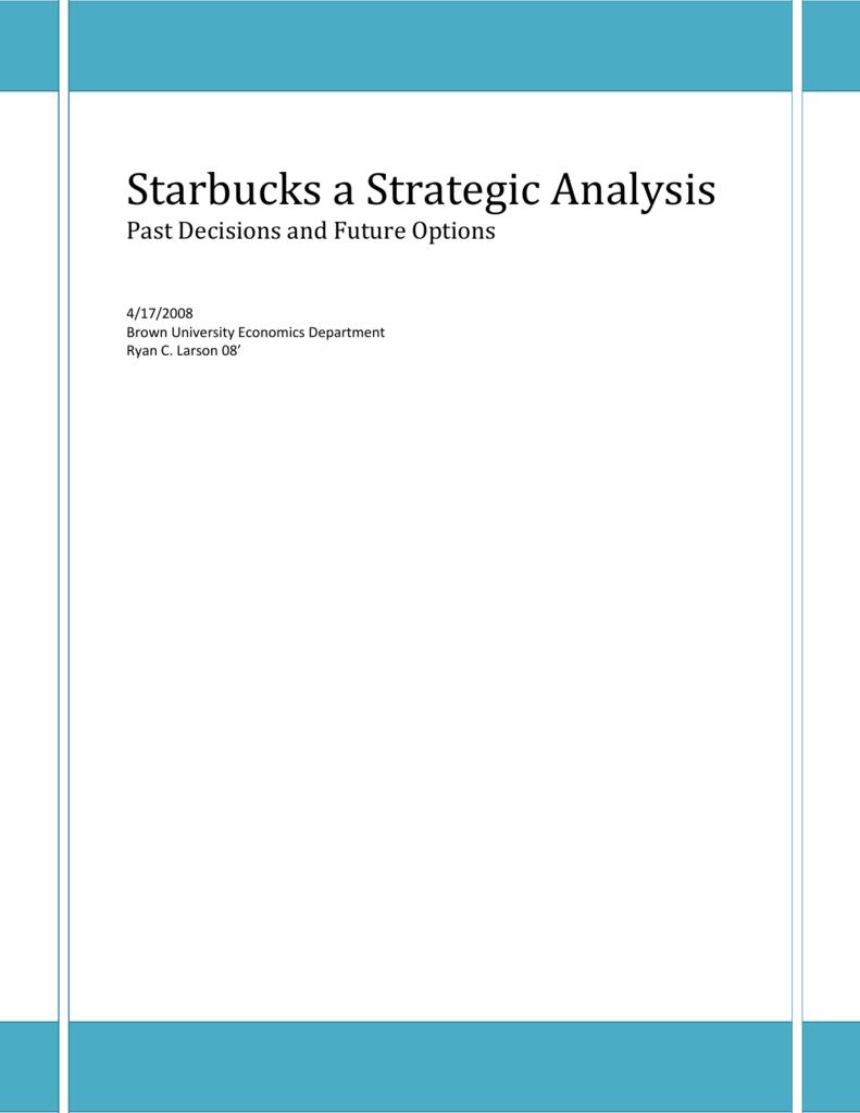 demographic segmentation of starbucks