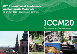 Full programme - 20th International Conference on Composite