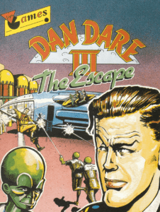 Dan Dare 3: The Escape - Amstrad CPC - Manual
