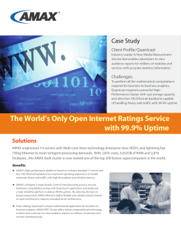 The World's Only Open Internet Ratings Service