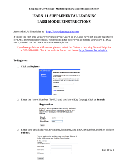 learn 11 supplemental learning lassi module instructions