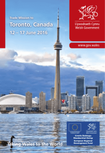 Trade Mission Flyer - Canada - English - Business Wales