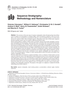 Sequence Stratigraphy: Methodology and Nomenclature