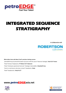integrated sequence stratigraphy