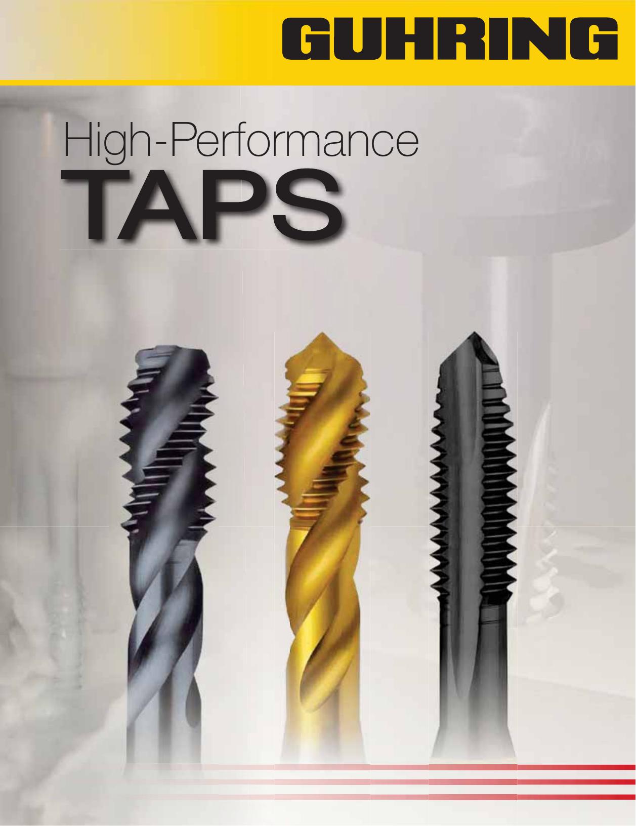 4 Flute TiN Coating Mod Bottom GUHRING 9039210160000 Spiral Flute Tap Cobalt M16 x 2.0 Size