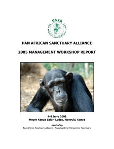 Pan African Sanctuaries Alliance (PASA)