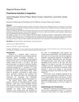 infant botulism emedicine