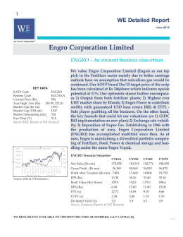 ENGRO Detailed Report.qxd - WE Financial Services Ltd.