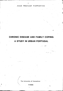 CHRONIC DISEASE AND FAMILY COPING: A STUDY IN URBAN