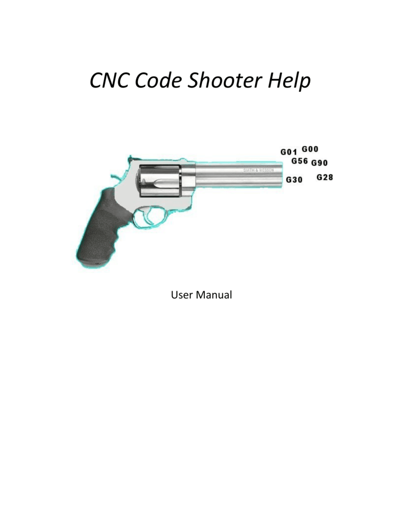 CNC Code Shooter Help File