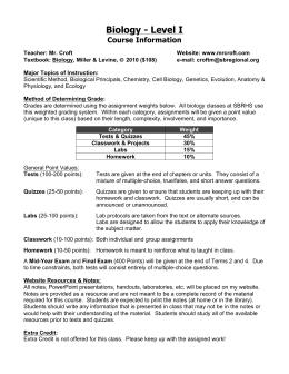 bio 105 syllabus rh studylib net Lab Bench Biology Laboratory Manual Answers